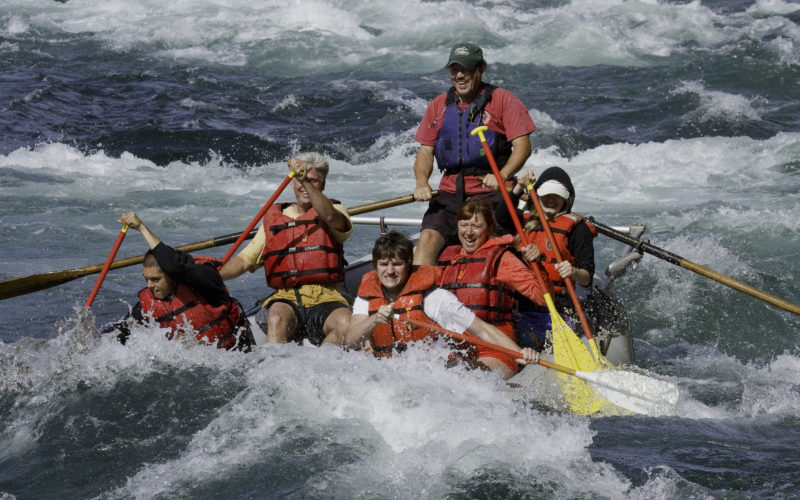 Rafting the scenic & mighty McKenzie river