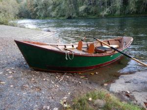 fishing drift boat