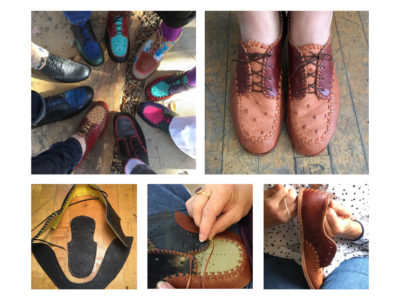 Cordwainer Shoe workshop with Molly Grant