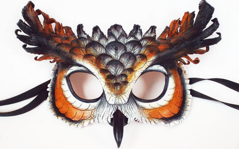 Annie Libertini – Osprey Mask and Great Horned Owl Handbag September 23-27, 2019